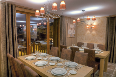 Val Thorens accommodation, chalets in Val Thorens, Balcons chalets