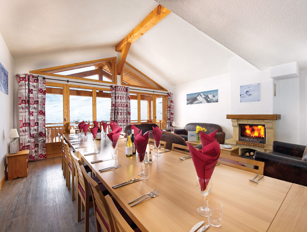 Dining area in Chalet Catherine
