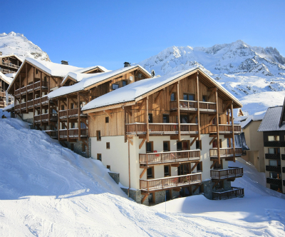 Val Thorens accommodation - view of Montana Plein Sud