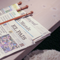 Val Thorens news blog - picture of newspapers