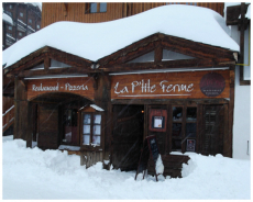 Val Thorens restaurants in Val Thorens - view of La Petite Ferme