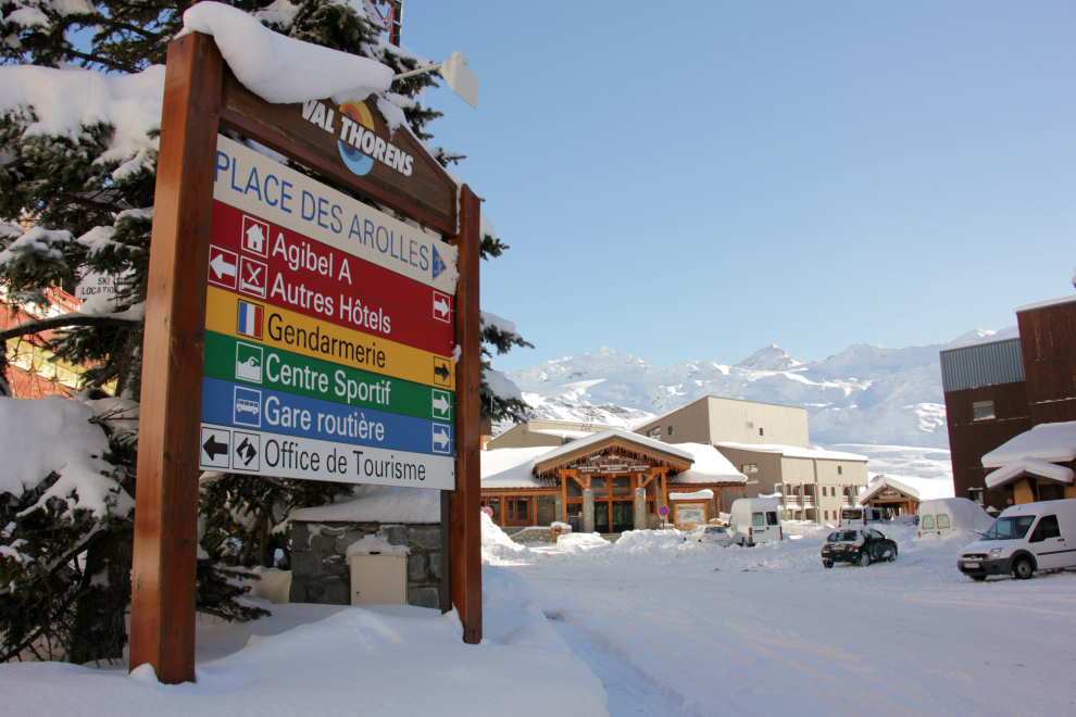 Val Thorens resort shuttle