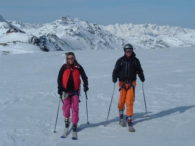 Гастроли лыжников в Валь Торанс