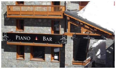 Val Thorens bars, around place Caron, le Sabot de Vénus piano bar