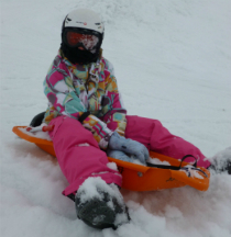 Val Thorens activities - tobogganing
