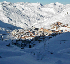 The resort of Val Thorens