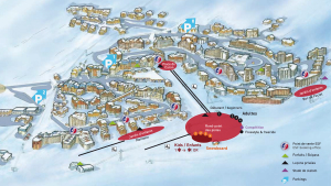 Val Thorens resort map (click to enlarge)