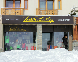 Zenith ski shop, Val Thorens